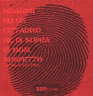 Di sopra di ogni sospetto dvd indagine su un cittadino al di sopra di