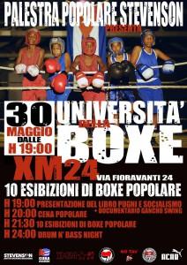 Università della boxe Vol.1 @ Xm24   Bologna   Emilia-Romagna   Italia