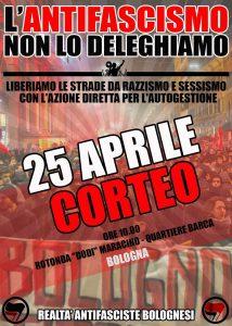 CORTEO ANTIFASCISTA CITTADINO @ Xm24 | Bologna | Emilia-Romagna | Italia
