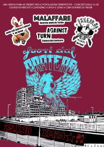 Fuori dal Cratere! serata Punk-hc benefit terremoto @ Xm24 | Bologna | Emilia-Romagna | Italia