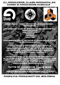 Dj & Producers Classroom - Corso di produzione musicale @ Xm24 | Bologna | Emilia-Romagna | Italia