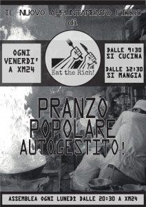 Il pranzo del venerdì @ Xm24 | Bologna | Emilia-Romagna | Italia