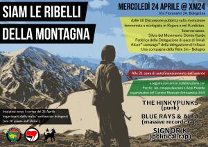 Siam le ribelli della montagna @ Xm24